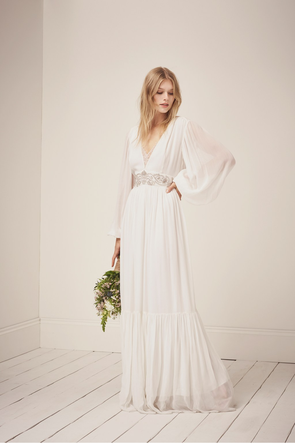 Cari Sparkle Maxi Wedding Dress | Collections | French Connection