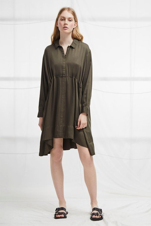 sunny shirt dress