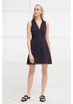 Zhara Lace Panelled Dress