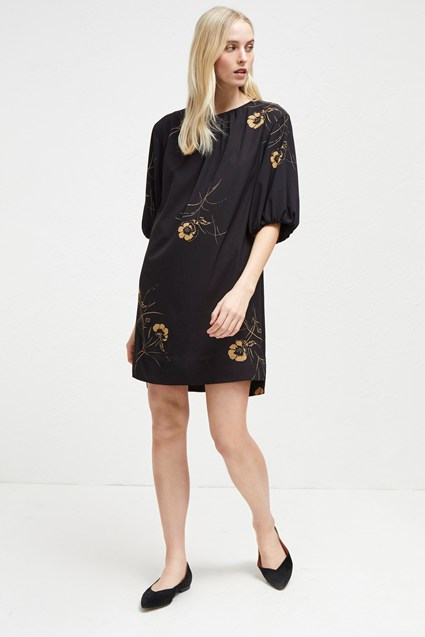 Mahi Crepe Tunic Dress