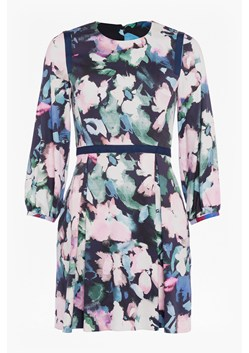 Dreda Print Fit Flare Dress