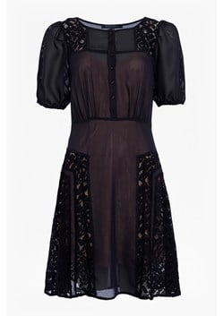Dawn Mix Lace Panelled Dress