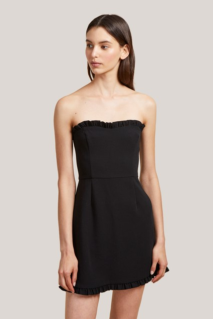 Whisper Ruth Strappy Frill Dress