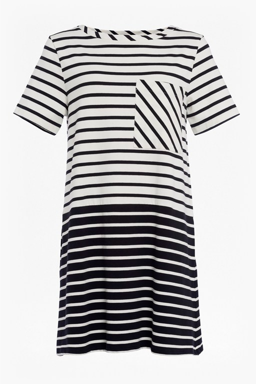 tim tim stripe pocket dress