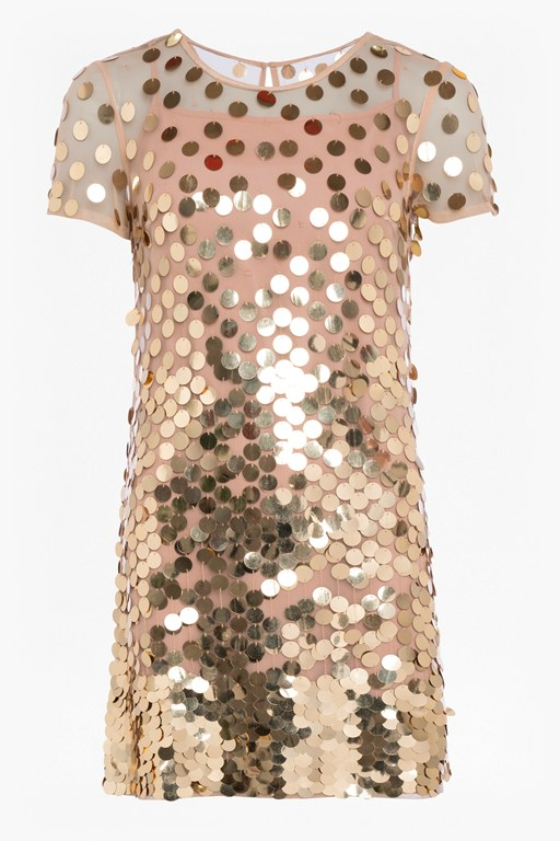 basu sparkle tunic dress