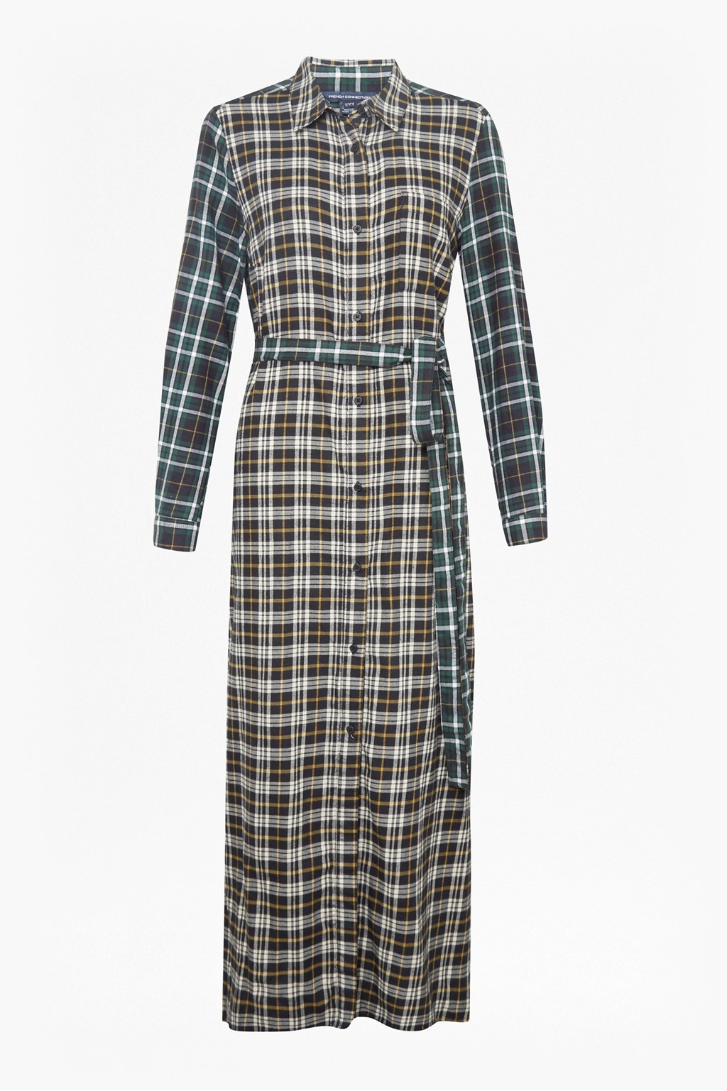 d903c91e733a Este Check Midi Shirt Dress. loading images.