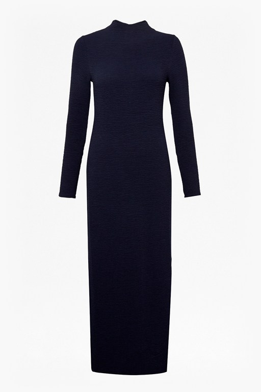 Complete the Look Petra Texture Jersey Midi Dress