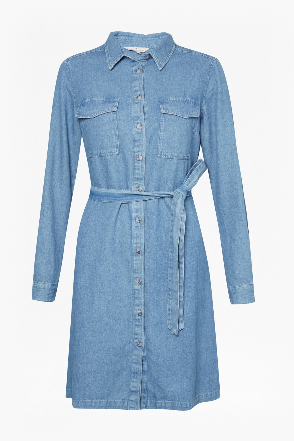 d4672b0be99 Avery Denim Belted Shirt Dress | Collections | French Connection