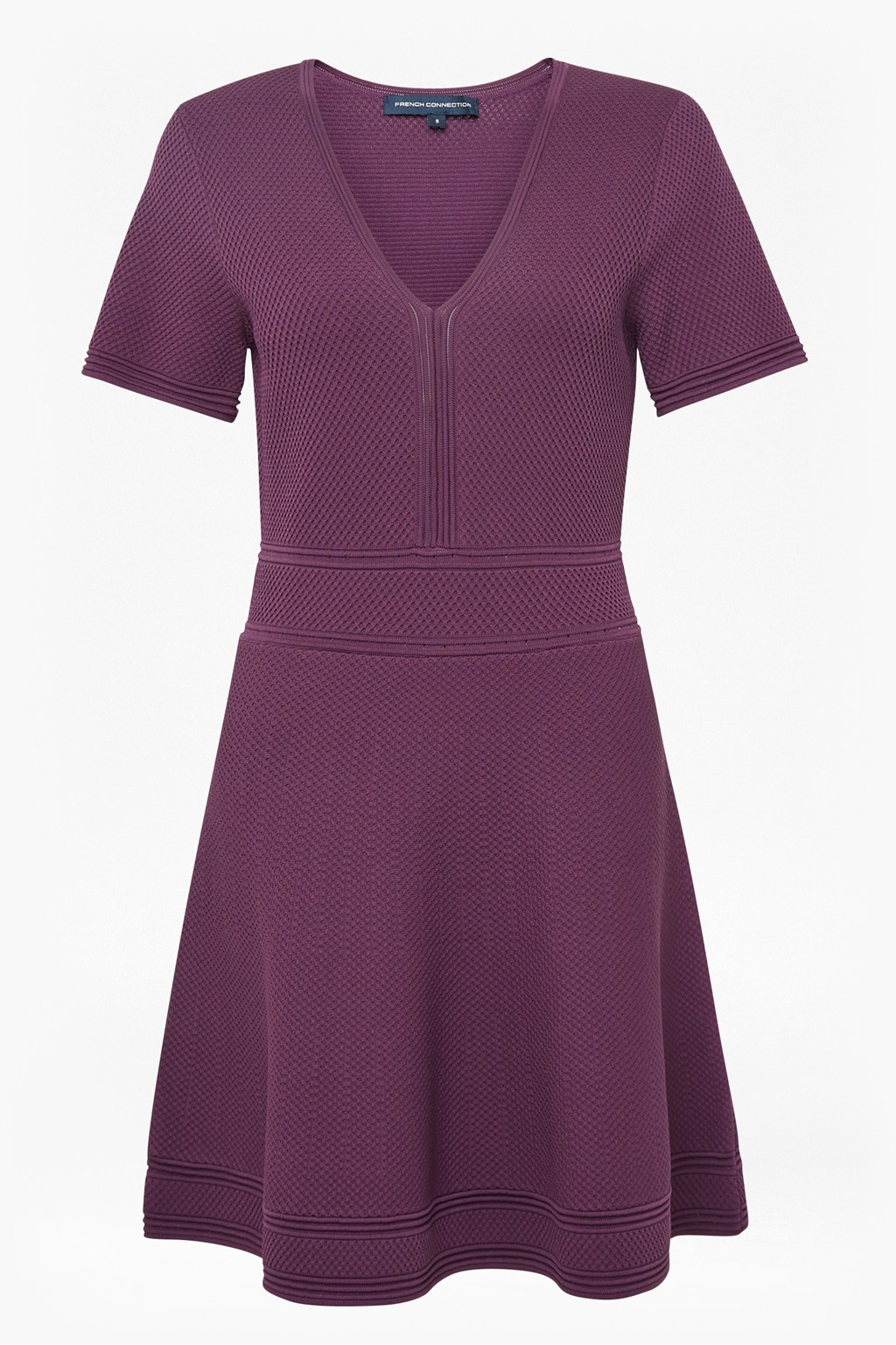 5672268fb59 Ellie Knit Fit And Flare Dress Imported French Connection