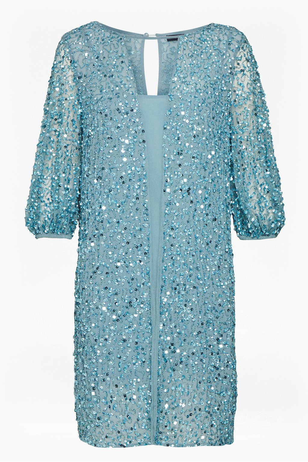 02cab40f37 Diana Sequin Puff Sleeve Dress | Collections | French Connection