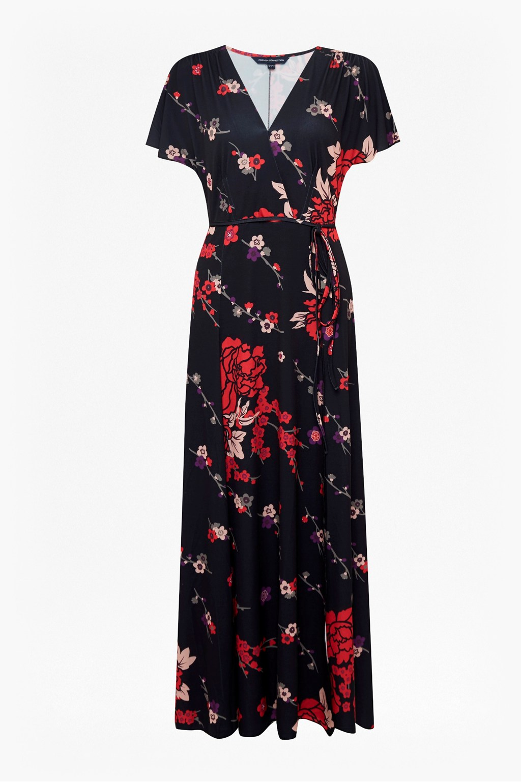 b858db8916 Floral V Neck Maxi Dress | Click And Collect | French Connection