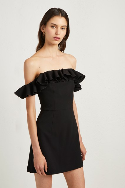 Whisper Light Ruffle Dress