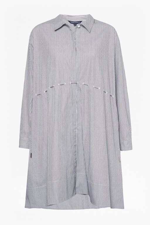 smythson stripe shirt dress