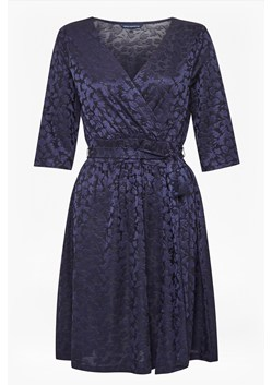 Tallis Jacquard Jersey Dress