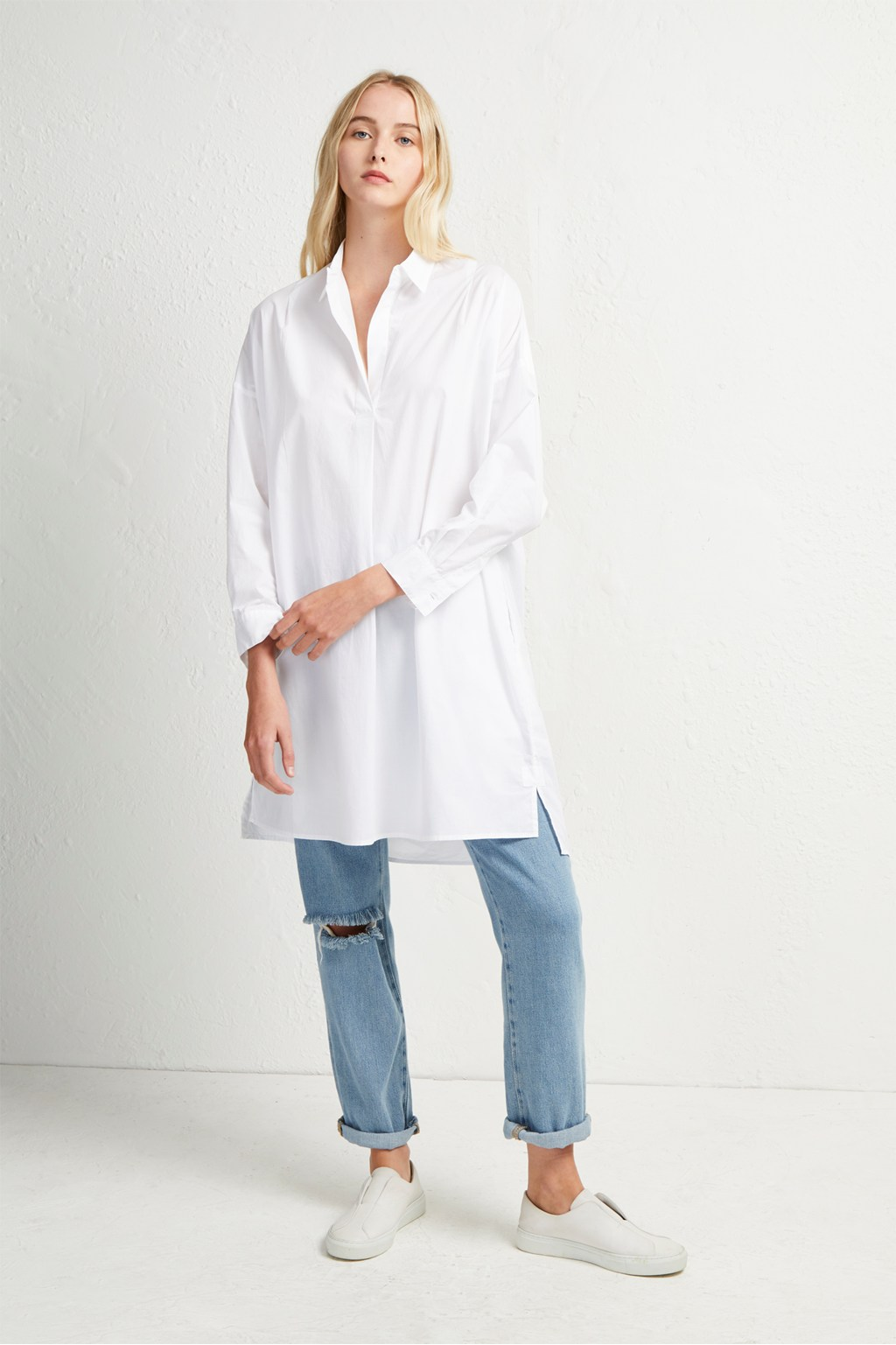15e280c52c0f Womens White Shirt Dress - DREAMWORKS