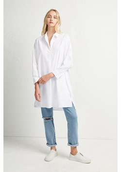 Rhodes Poplin Belted Shirt Dress