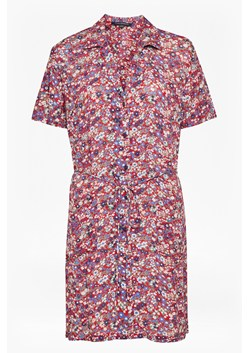 Clarette Floral Mini Shirt Dress