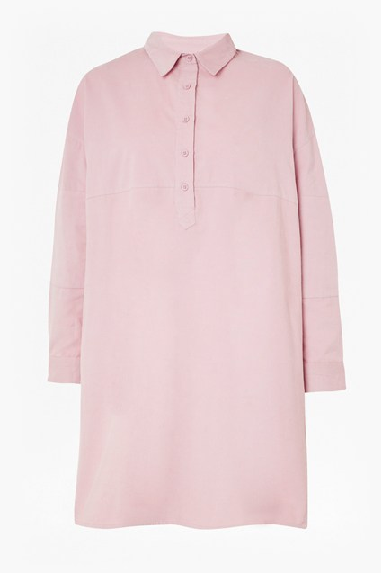 Caspia Baby Cord Shirt Dress