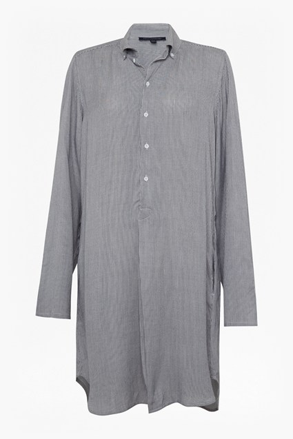 Stina Stripe Shirt Dress