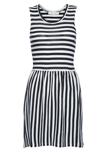 Martha Stripe Jersey Dress