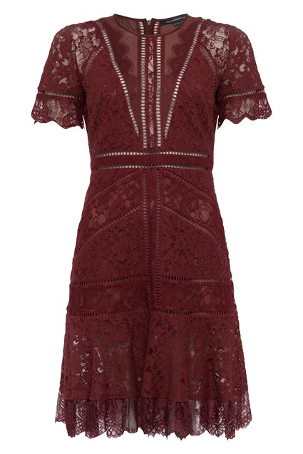 Chante Lace Mix Dress