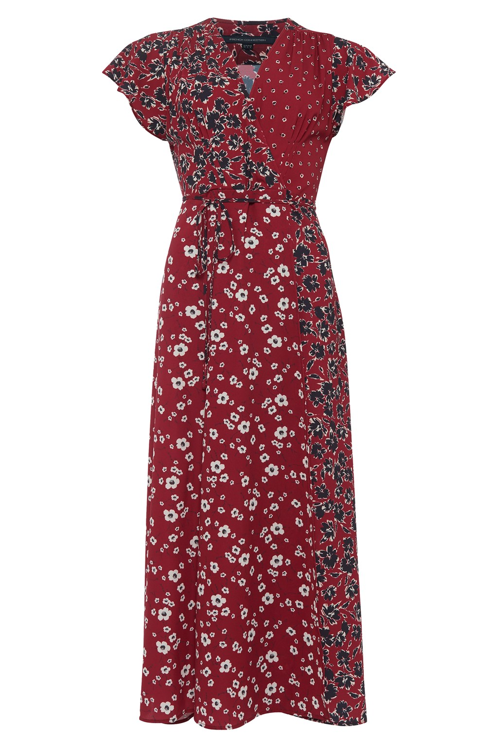 021838f3110 Aliyah Crepe Floral Maxi Dress | Collections | French Connection