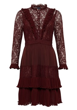 Clandre Vintage Lace Mix Dress