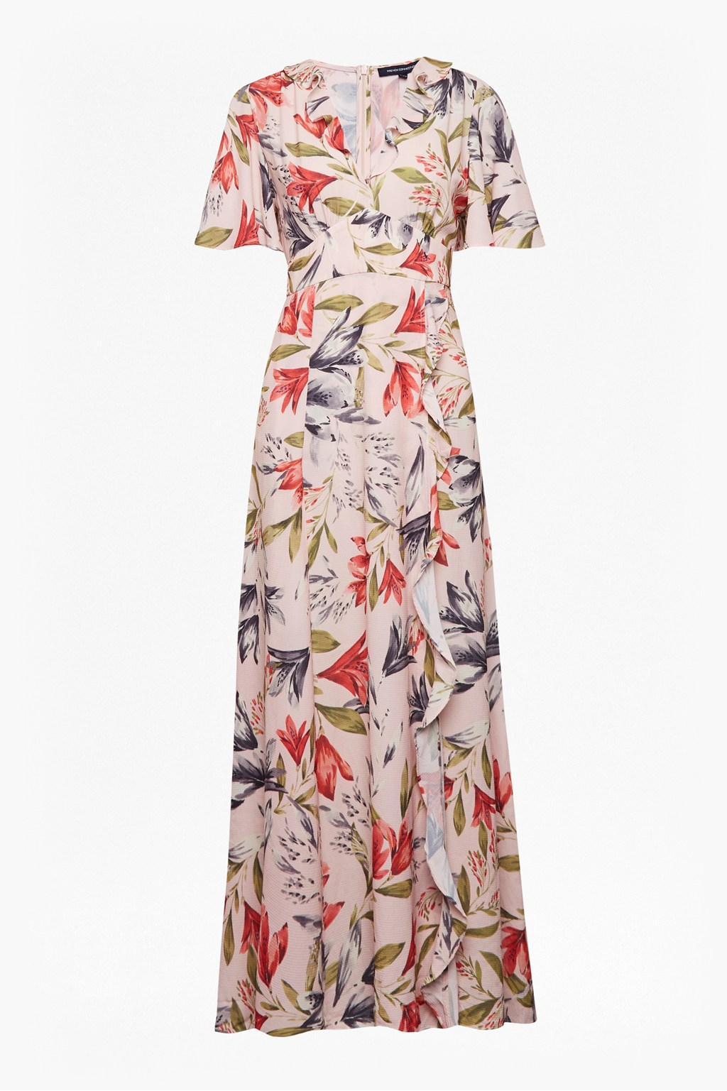 555b760108 Cadencia Crepe Floral Maxi Dress | Collections | French Connection