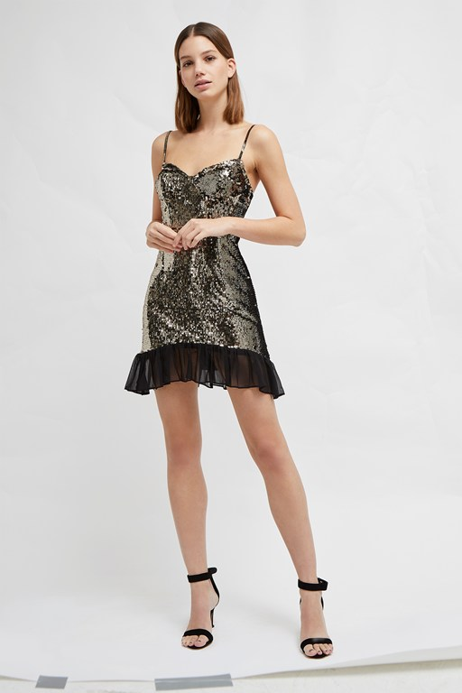 briellare embellished mini dress