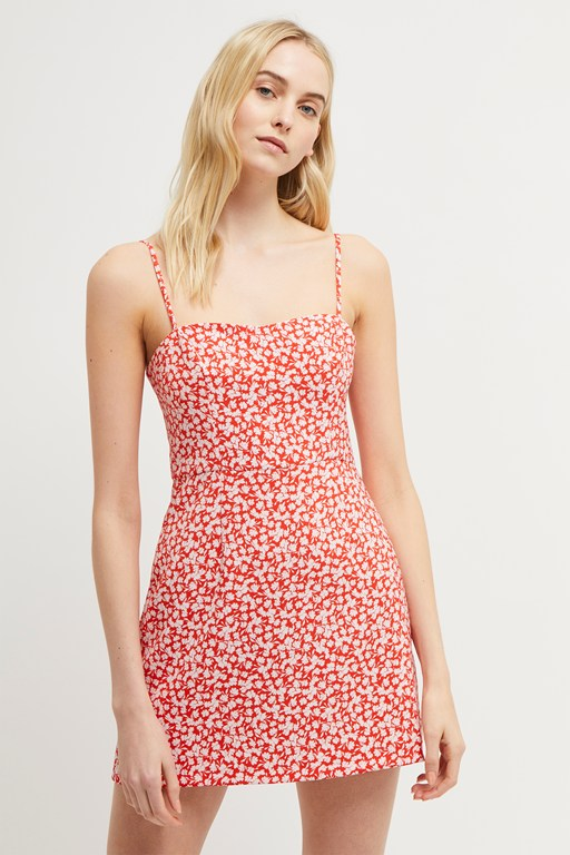 whisper baylee floral strappy dress