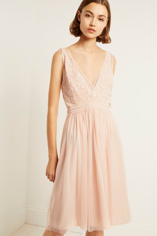 estelle embellished dress