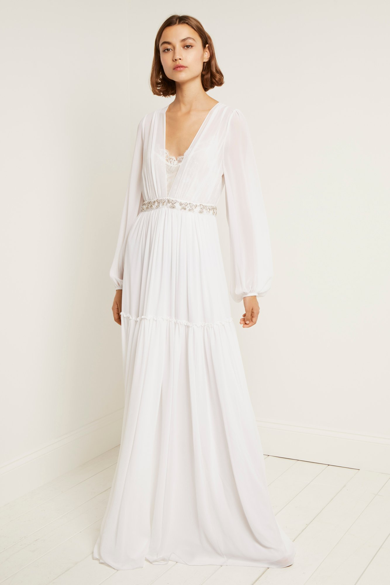 Alana Drape Maxi Wedding Dress Collections French Connection
