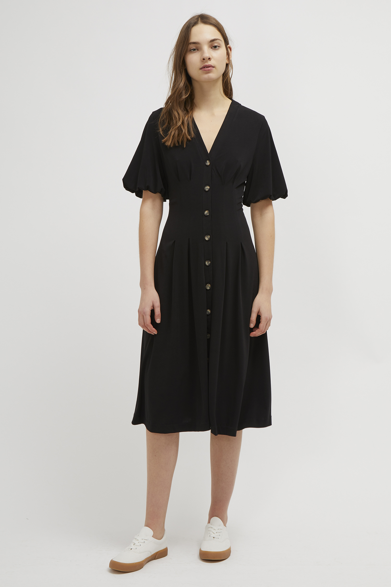 4d131b07e39 Serafina Slinky Jersey Midi Dress | Collections | French Connection