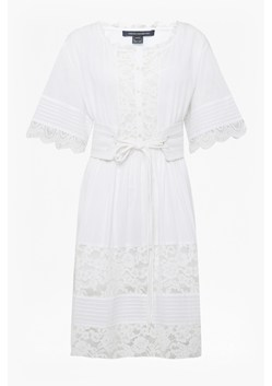 Clemathe Embroidered Lace Dress