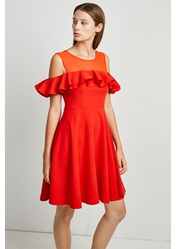 Alissa Flare Cold Shoulder Dress