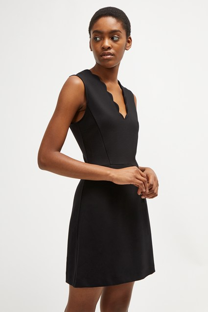 Lula Stretch V Neck Dress