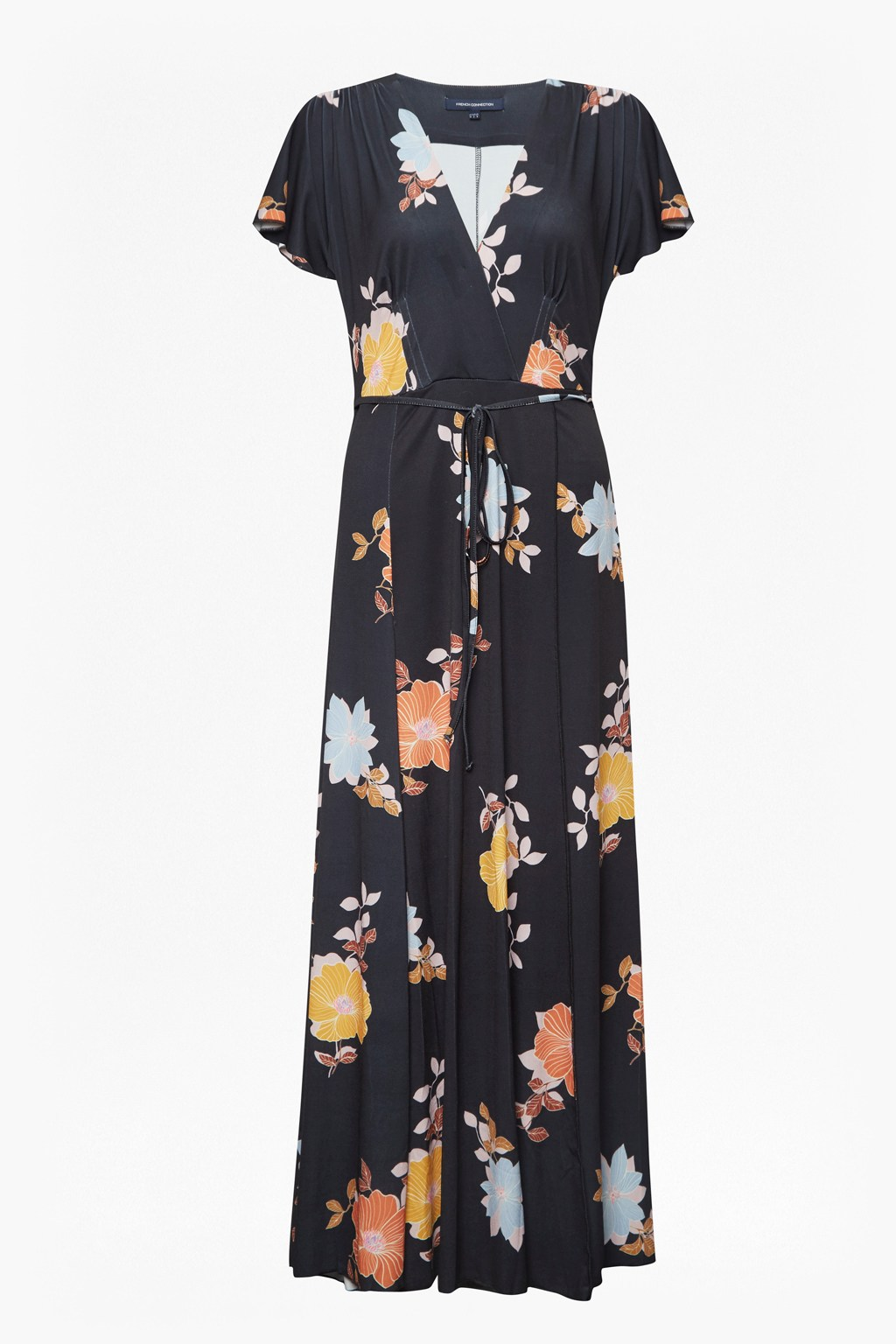 20d2b592128 Shikoku Spaced Jersey Maxi Dress   Collections   French Connection