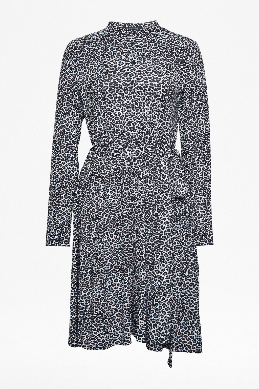 eb1e026bf Animal Print Jersey Shirt Dress | Collections | French Connection