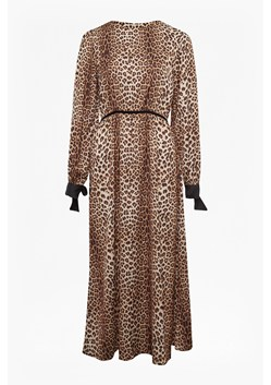 Animal Print Slinky Dress