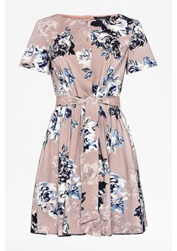 Amalfi Corsetta Floral Belted Dress