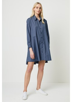 Mattia Check Drawstring Shirt Dress