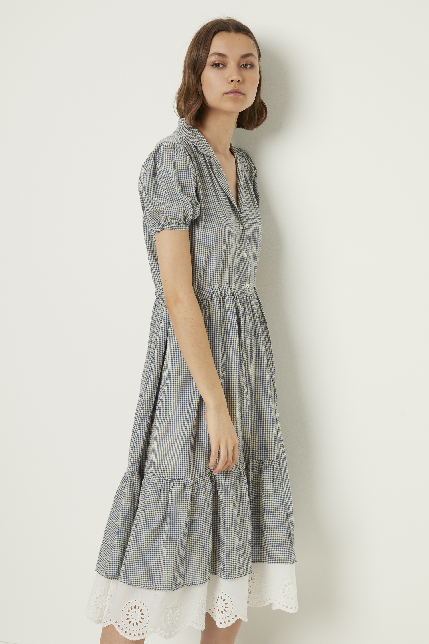 69647ed057c Vintage Jacqueline Check Shirt Dress | Collections | French Connection