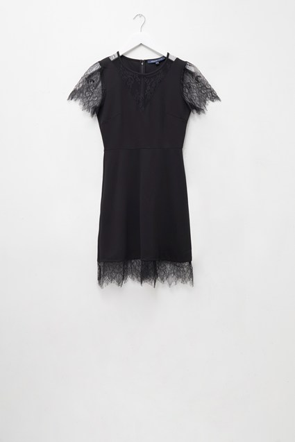 Madalyn Lula Jersey Lace Mix Dress