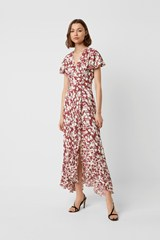 Brunetta Floral Wrap Maxi Dress