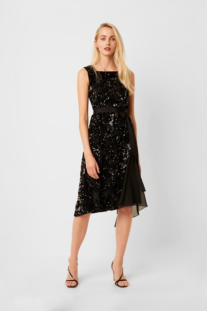 Eano Sequin Mix Dress