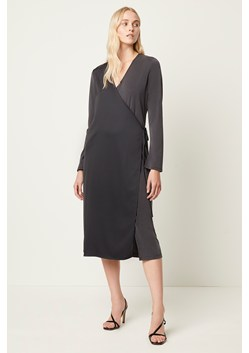 Soffie Mix Wrap Tie Dress