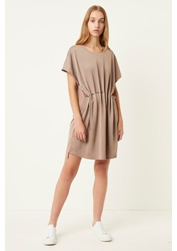 Tamina Satin Mix Drawcord Dress