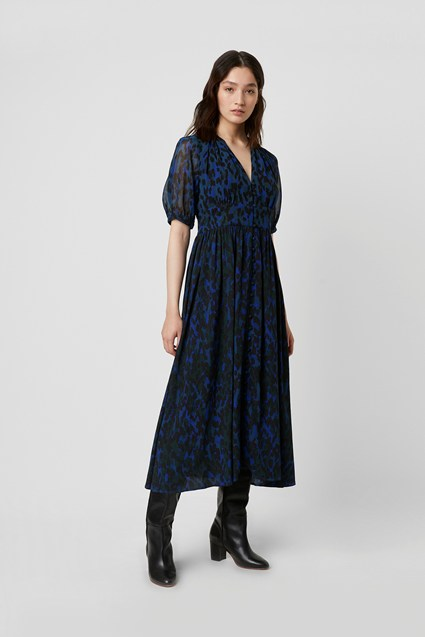 Inari Mix Printed Midi Dress by French Connection