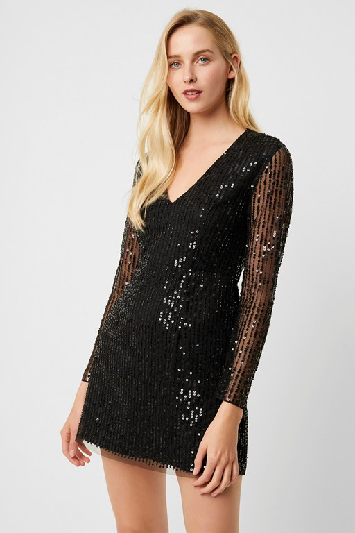 inarhi embellished v-neck dress