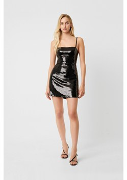 Sequin Sweetheart Strappy Bodycon Dress